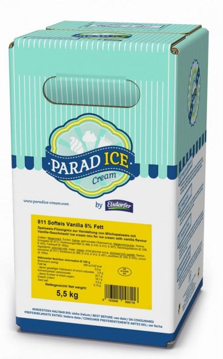 Softeismix ParadIce 5% Milchfett Vanille