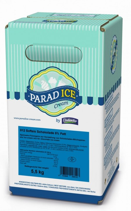 Softeismix ParadIce Schokolade 5% Milchfett