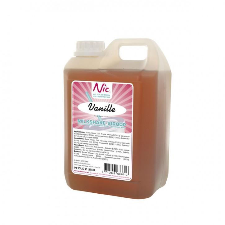 Milchshake Sirup Vanille