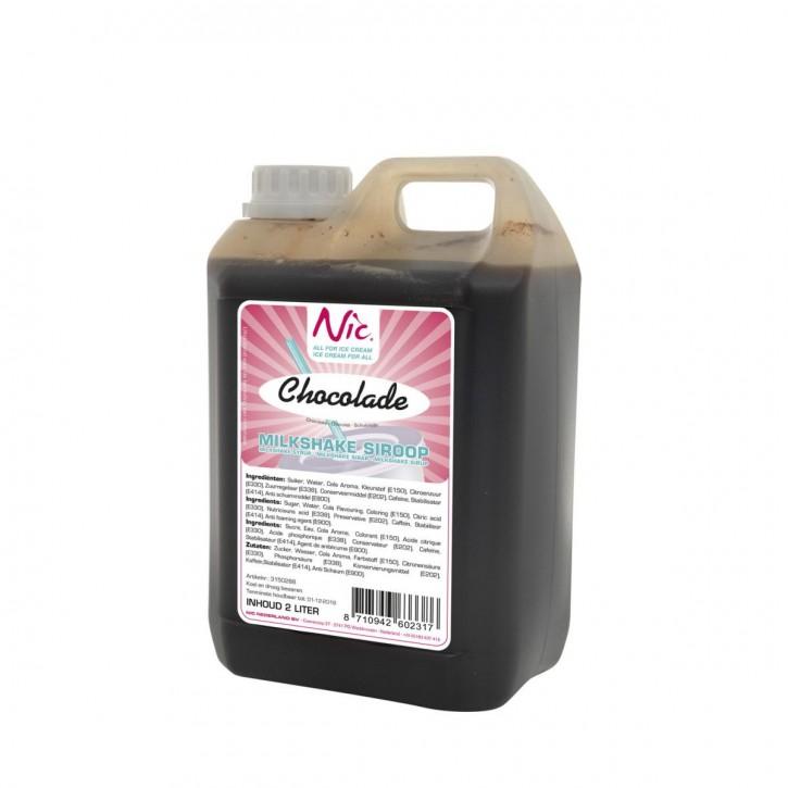 Milchshake Sirup Schokolade