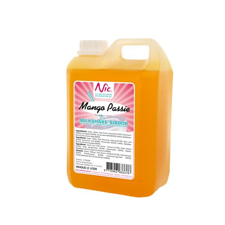Milchshake Sirup Mango/Maracuja